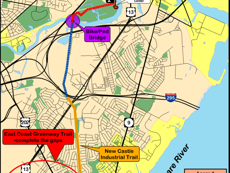 New Castle Industrial Tract - East Coast Greenway