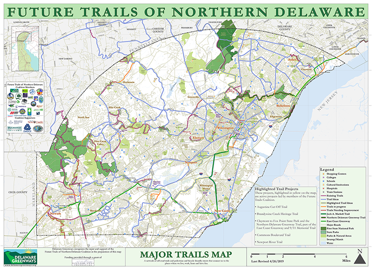 Trail & Pathway Maps - Delaware Greenways on arden delaware, map of de, map of united states, map pennsylvania, map of delmarva, map of new england states, map of north carolina, road map delaware, map of ohio, nautical maps delaware, kenton delaware, map of china, map of south carolina, smyrna delaware, counties in delaware, map of newark, frankford delaware, map of fiji, map of quebec,